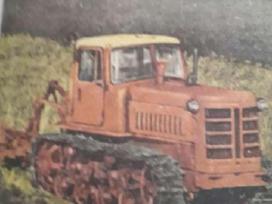 Pirksiu Buldozeri vikšriny i traktoriu DT-75