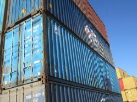 Jūriniai (sandėliavimo) konteineriai 40 Hc (12m)