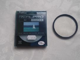 Filtras 72 mm Kenko idealus