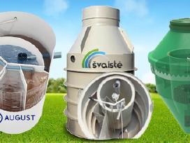 Nuotekų valymo įrenginiai - montavimas nuo 300eur.