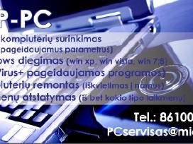 Kompiuterių Servisas Vilniuje. Nuo 20 eur