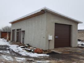 Išnuomojamas 80 kv m garažas