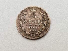 Carinė 15 kop 1861 Rusija
