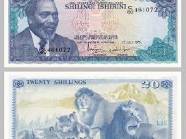 Kenija 20 Shillingi 1978m. P17 Unc