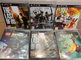 Parduodu Sony PS3 žaidimus