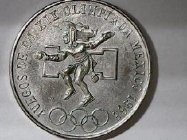 Meksika 25 pesai, 1968