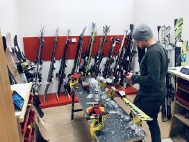 Slidžių ir snieglenčių servisas Klaipėda