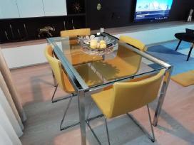 Parduodame nauja valgoma stalą bei kėdes - naujos