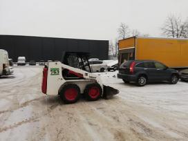 Bobcat nuoma Vilniuje nuo 21€/val