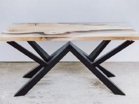 Drožybos ir staliaus, darbai su epoksidine derva