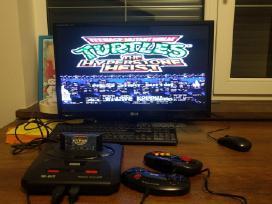 Originalios Sega Megadrive 1 ir 2 konsoles