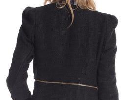 Tik 15 eur ! naujas stilingas juodas švarkelis