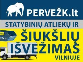 Statybinių atliekų išvežimas Vilniuje