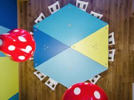 Modulinis vaikškas stalas