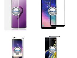 Gaubti 3D grūdinti stiklai mobiliesiems telefonams