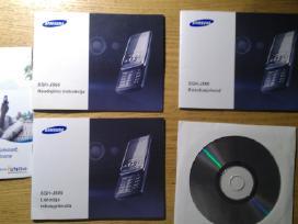 Samsung Sgh-j800 pakuotė