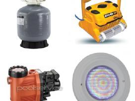 Baseino robotai baseinų įranga, filtrai, siurbliai