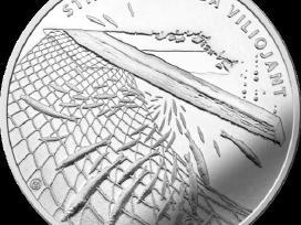 1,50 Eur moneta, skirta stintų žvejybai viliojant