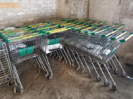 Parduodu naudotus prekių vežimėlius