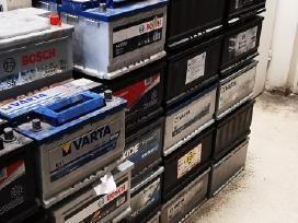 Nauji ir naudoti akumuliatoriai su garantija.