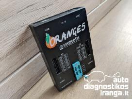 Orange5 programavimo įranga + adapterių komplektas