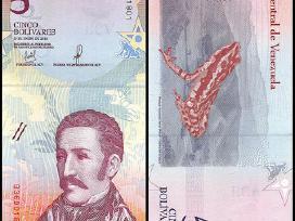 Venesuela 5 Bolivares 2018m. P-new Unc