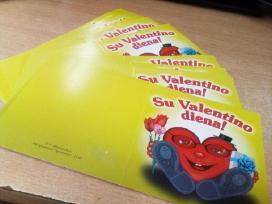 Atvirutės valentino dienos proga
