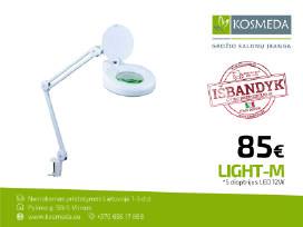Kosmetologinė lempa Led, stalinė / su ratukaias