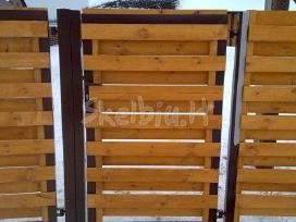 Medinės tvoros, vartai, statyba visoj lietuvoj - nuotraukos Nr. 3
