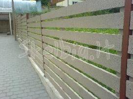 Medinės tvoros, vartai, statyba visoj lietuvoj - nuotraukos Nr. 5