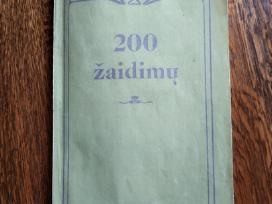 1988 m.m.grigonio knyga 200 žaidimų