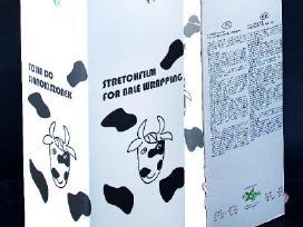 Plėvelė šienainiui Agrostar 7 sluoksnių