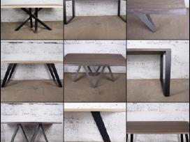 Valgomojo stalai, TV staliukai, baro kėdės ir t.t.