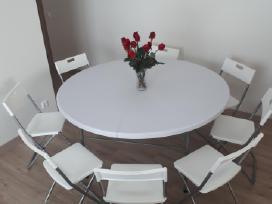 Stalų, kėdžių nuoma. Šventinių paviljonų/palapinių - nuotraukos Nr. 4