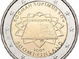 "Suomija 2 euro 2007 ""Romos sutartis"" Unc"