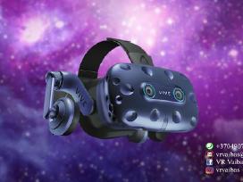 Virtualios realybės įrangos nuoma HTC Vive Pro