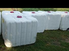 Ibc konteineriai, 1000 litru talpos,