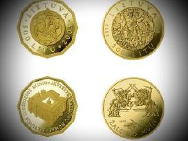 Perku auksine moneta Valdovu Rumai3000€