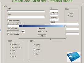 Emv X1 X2 X3 Smart Card All In One Software