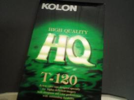 Vhs kasetė nauja Hq T-120