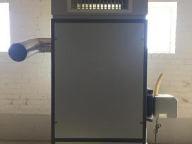 Granulinis katilas - karšto oro generatorius 100kw