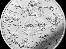 1,50 euro moneta 2019 Užgavėnės