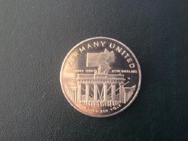 Maršalo s. 1990m 5dollars Cu-ni Vokietijos suvien.