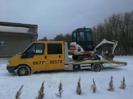 Technine pagalba kelyj tralas krovinių pervežimas
