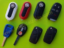 Fiat raktai Fiat raktu Fiat raktas Usa ir Eu auto