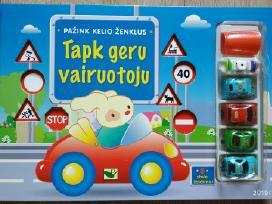 """Knygutė vaikams """"Tapk geru vairuotoju"""""""