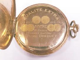 Moser auksinis kišeninis laikrodis 51,62g 585 - nuotraukos Nr. 3