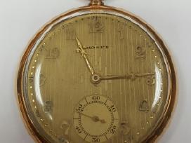 Moser auksinis kišeninis laikrodis 51,62g 585