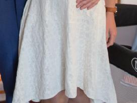 Balta madinga (38 dydžio) suknelė