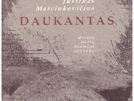 """Justinas Marcinkevičius """"Daukantas"""" su autografu"""